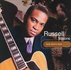RUSSELL MALONE - LOOK WHO'S HERE USED - VERY GOOD CD