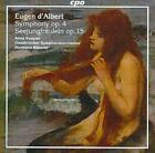 "EUGEN D'ALBERT: SYMPHONY, OP. 4; SEEJUNGFR""ULEIN, OP. 15 USED - VERY GOOD CD"