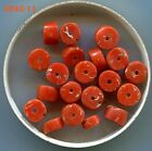 **Antique Yemeni Natural Undyed Coral Beads Medium & Small Beads 5240-5244