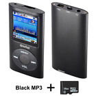 Media Player USB Port MP3 Music Player LCD Screen Metal With 16GB Micro SD Card