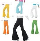 Mens 70's Flared Trousers Fancy Dress Flares