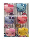HELLO KITTY 1 x Flavored Balm LIP GLOSS RING Scented FLIP CAP Girls *YOU CHOOSE*