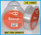 SEAGUAR STS SALMON  TROUT/STEELHEAD FLUOROCARBON LEADER- PICK YOUR SIZE