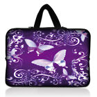"13""Purple Laptop Soft Sleeve Bag Case+Hide Handle For 13.3"" Apple Mabook Pro,Air"