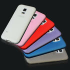 Ultra Slim Frosted Matte Gel TPU Back Skin Case Cover for Samsung Galaxy S5 Mini