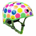 Micro Kinder Helm Scooter Helm neon punkte