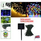 50/100/200 LED Solar Battery Fairy Lights String Lamp Garden Outdoor Party Xmas