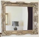 X Large Antique Silver Ornate Mirror Stunning - Choice of size & Colour - NEW