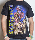 IRON MAIDEN Somewhere Back In Time Eddie T-SHIRT OFFICIAL MERCHANDISE