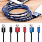 USB C 3.1 Type-C Fast Data Sync Nylon Braided Charging Cable For Android Phone