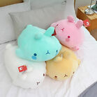"""Molang Lieing Soft Plush Stuffed 20"""" Doll Toy Anime Cute Rabbit Pillow Bedding"""