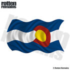 Colorado State Waving Flag Decal CO Car Truck Vinyl Sticker (LH) M66