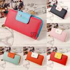 Women Fashion Leather Long Wallet Phone Card Holder Handbag Clutch Tote Purse TU