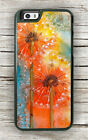 DANDELION FULL COLORS ART PAINT CASE FOR iPHONE 6 6S or 6 6S PLUS -lkm8X