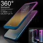 Hybrid 360° Hard Back Case+Screen Protector Cover For Samsung Galaxy S8+/S7 Edge
