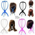 Wig Display Stand Mannequin Dummy Head Hat Cap Hair Holder Foldable Stable Tool~