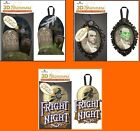U CHOOSE Paper House 3D Shimmers GRAVEYARD - WITCH - CREEPY PORTRAIT - Lights Up