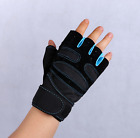 Fitness Sports Exercise Weightlifting Bracers Anti - Slip Half - Finger Gloves