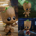 Hot Guardians of the Galaxy Plastic Groot 3 Cosbaby Bobble Marvel Figurine Toys