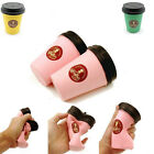Squishy Slow Rising Jumbo Coffee Cup Phone Strap release stress Fun Toy Gift