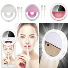 Beauty Selfie LED Ring Fill Light Camera Photography To IPhone Android Phone