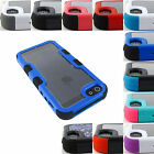 "FOR APPLE IPHONE 8 (5.1"") SHOCKPROOF VIVID TUFF ARMOR RUGGED CASE COVER+STYLUS"