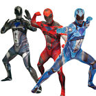 New Power Ranger Morphsuit Costume Great for Fancy Dress Group Costumes Festival