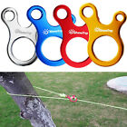 10pcs Quick Knot Tent Wind Rope Buckle 3 hole Anti-slip Camping Hiking Hook Rope