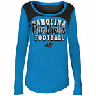 Carolina Panthers 5Th & Ocean By New Era 17 Girls Glitter Football  T-Shirt