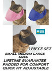 GROOMER SET CAT Comfort MUZZLE LINED Quick-FIT Nylon Feline ADJUSTABLE TRAINING