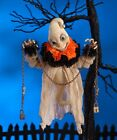 LA6886 Bethany Lowe Dexter the Hexter Ghost in Chains Happy Halloween Decoration