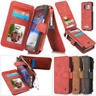 CASEME GENUINE LEATHER MULTI FUNCTION WALLET CASE COVER IPHONE 6 SAMSUNG S7 EDGE