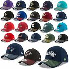 NEW ERA CAP 39THIRTY NFL SIDELINE 2017 SEAHAWKS PATRIOTS RAIDERS COWBOYS UVM