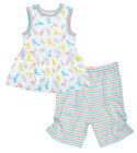Under The Nile Baby Girls Infant Bird Print Dress with Capri