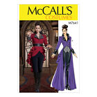 McCall's 7641 Sewing Pattern to MAKE Cosplay Coat with Peplum in Two Lengths