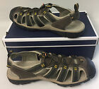 Croft and Barrow Jeffery Olive Bungee Men's Sandal Shoes Flexible size 11, 13 M