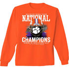 National Champions 2016 FB Face Guard Clemson Adult Long Sleeve T-shirt