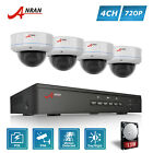 720P 4CH POE Home Security System CCTV Camera Surveillance Outdoor 1TB HDD NVR