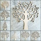 Wooden Family Tree Shapes Blanks -Art Craft Blank-Wedding Guestbook Crafting MDF
