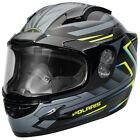 Polaris Cyclone 2.0 ADV Gloss Blue Electric Shield Snowmobile Helmet 2866121XX