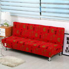 Simple L Shaped Sofa Cover Elastic Folding Armless Futon Slipcover Durable