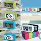 Backlight Light Control Digital LCD Snooze Electronic Alarm Clock with LED