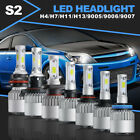 OSLAMP LED Headlight H4 H7 H11 H13 9005 9006 9007 Car Light Bulbs Canbus Decoder