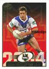 2005 SELECT POWER NRL TEAM OF THE YEAR: DANNY BUDERUS #TY9 NEWCASTLE KNIGHTS