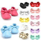 Baby Tassel Soft Sole Leather Shoes Infant Boy Girl Toddler Moccasin 0-18M New