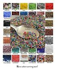 TINY BEADS 11/0 Czech Glass Seed Beads 10-Grams UR PICK