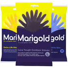 Marigold Household Strong Cleaning Natural Rubber Gloves Pack of 1, 3 & 6 Pairs
