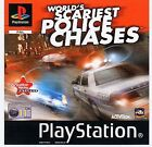 World's Scariest Police Chases Sony PS1 (UK PAL COMPLETE) TV Series Based Racing