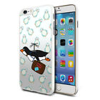 Premium Design Hard Case Cover for Various Mobiles - Flying Penguin