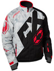 Castle X Vapor Jacket Alpha Gray/Red/Black sizes Medium-XL New!